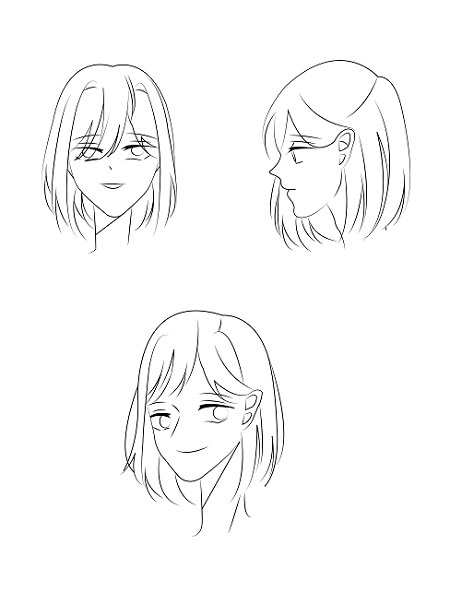 How to draw anime face - Image 4