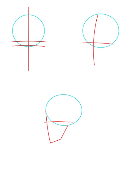 How to draw anime boy's face - Image 2