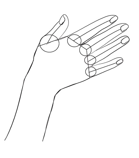 How to draw hands - step by step - Image 2