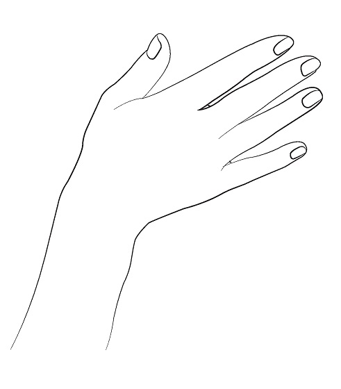 How to draw hands - step by step - Image 3