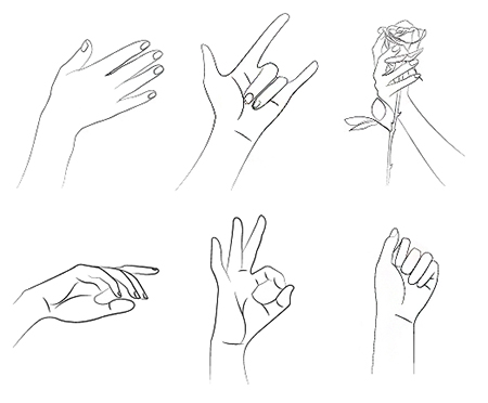 How to draw hands - step by step - Image 4
