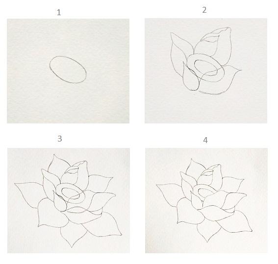 Hướng dẫn vẽ hoa sen tưởng không dễ mà dễ không tưởng với vài bước đơn giản - Ảnh 1