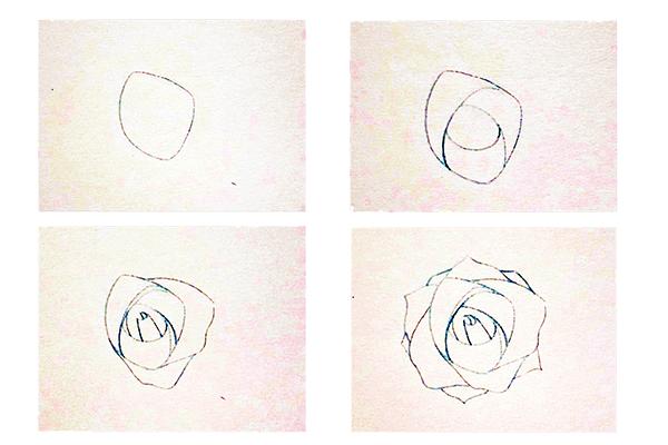 Hướng dẫn vẽ hoa hồng đẹp chỉ với 10 bước đơn giản - Ảnh 1
