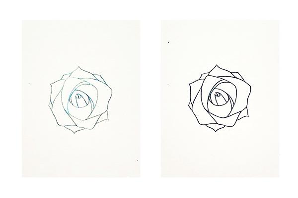 Hướng dẫn vẽ hoa hồng đẹp chỉ với 10 bước đơn giản - Ảnh 2